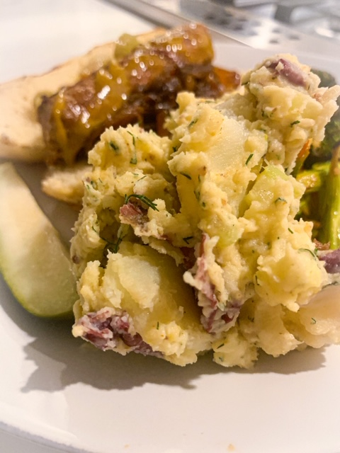 Dilly Red Skin Potato Salad